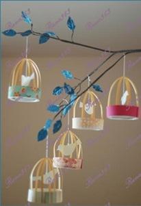 عمل قفص به عصفور birdcage_lanterns_he
